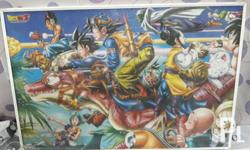 Dragonball Z with Frame Size: 30 in x 20 in