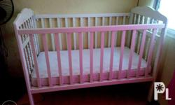 slightly used baby crib bought from SM. Original price