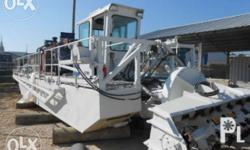 Poonton Type Dredger For rent or sale River and coastal