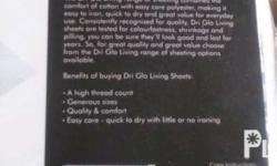 Dri Glo Living range of sheeting combines the comfort