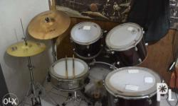 RUSH DRUMSET FOR SALE! Maya shells and snare except