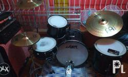 drumset for rent or sale 3 toms(hindi lang nkakabit ung