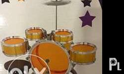 brand new drumset ideal gift for toddlers 950.00 meet