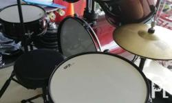 Brand New Drumset Standard Size. We Accept Cash on