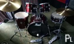 Selling my preloved drumset as is po Loc: pasig