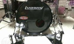 Ludwig accent drumset with arborea hero cymbals set