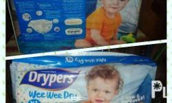 Drypers - 36 pcs ( XL-Taped 12-17kg) - Php 350