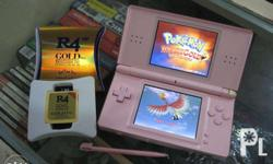 Nintendo DS Lite (Tri-color and Pink housing