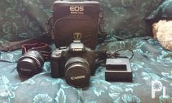 2nd Hand DLSR Canon Camera 650D TouchScreen with 2 Free