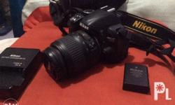 Nikkon d3100 with charger new battery with original