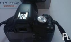 For sale DSLR Canon 500d better than canon 1100d for