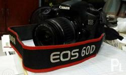 Re-posting my Canon 60D DSLR with sling, 18-55mm kit