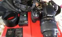 Dslr d5100 p26000 negotiable Seldom use Almost brand