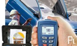 DT-156 coating thickness gauge probe can work under the