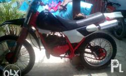 Yamaha Dt 125 For sale or swap sa 4stroke motorcycle