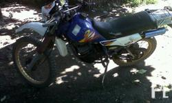 Deskripsiyon Yamaha DT 125, 1998 model. Complete papers