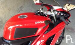 Ducati848 locally acquired fr ACCESS Plus with ONLY
