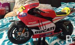 Big bike toys collection, 2 pcs Ducati about 12inches,