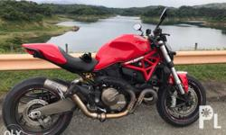 Ducati monster 821 2016 Gas Manual First owned (under