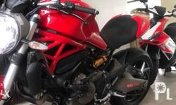 Ducati monster 821 (Ride and Roll)