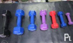 brand new dumbells for ladies and gym at Php 32.00 per
