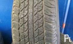 265/65 R17 DUNLOP AT20 1125 - ALMOST BRAND NEW - 99%
