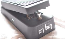 Dunlop GCB95 Crybaby Wah 9V FOR SALE No trades MINT