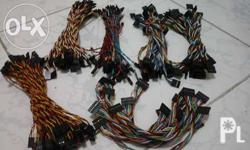 Male to male wires - Php7 Female to female wires -