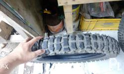 Tire 3.5x17 Good for off road Slightly used 2 weeks ra