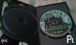 For interested or for Dvd collectors only Matrix set