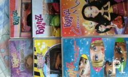 preloved original bratz dvds used only once or twice