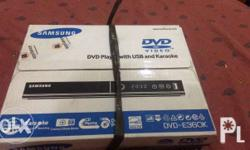 Dvd player with usb and karaoke BRAND NEW (nabuksan