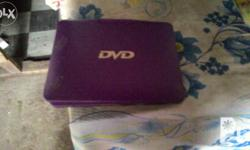 Dvd portable Good looking Negotiable Slightly used Good