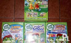 Selling 12 pcs original dvds for kids. All in good