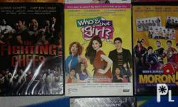 Assorted pinoy films. In my life excellent condition.