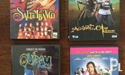 Preloved original DVDs; very good condition. For