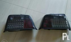 For sale used smoked tail lamps for e36 8,500 pesos