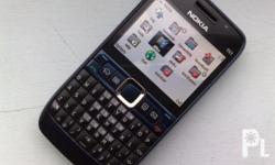 Deskripsiyon For Sale E63 phone with 4GB memory Card