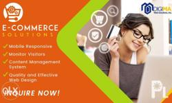 An ecommerce website has features that make it easy for
