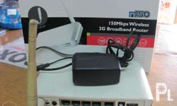 Edimax Wireless Router with wifi antenna with 4port 3G