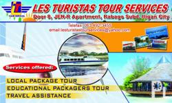Les Turistas Tour Services offers the following