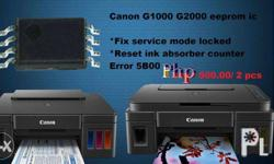 Eeprom IC for Canon G1000 G2000 G3000 mainboard logic board
