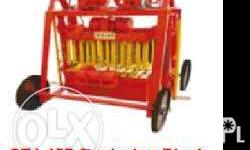Egglaying Block Machine QT4-45D Main Machine: