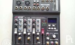 Ego Mixer available in 4,6 and 8 Channel digital
