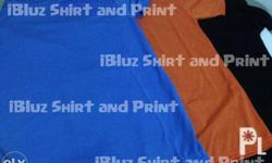 Election Shirt: MTO = Made To Order (3M and up) 120gsm