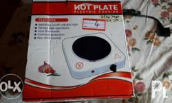 Price is negotiable. Brand new Electric Cooking Plate.