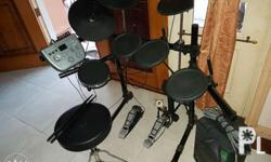 Electric drums for sale Used once Open for tawad hahaha