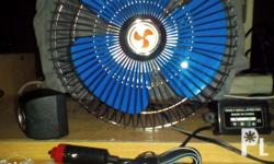 Electric fan 12 volts or 220