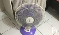 Electric fan 1 year old Works perfectly Meetup
