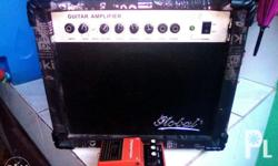 For sale : Global guitar amplifier 25watts and century
